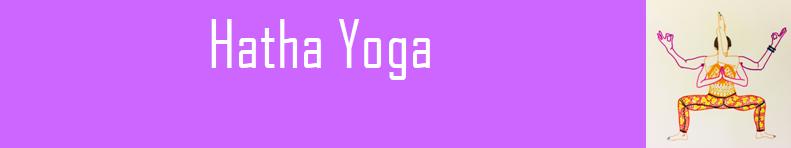 Banderole hatha yoga