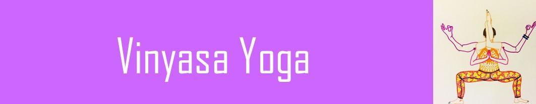 Banderole vinyasa yoga